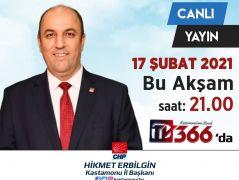 CHP Kastamonu İl Başkanı Hikmet Erbilgin Basın Açıklaması