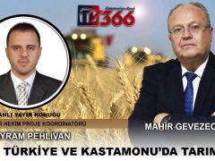 Mahir Gevezeoğlu ile Türkiye ve Kastamonu'da Tarım 17.03.2021