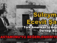 GÜNDEM ÖZEL – TABA – AmCham Dernek Başkanı Süleyman E. Şanlı