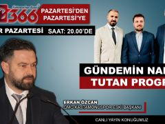 PAZARTESİ'DEN PAZARTESİ'YE 26.07.2021